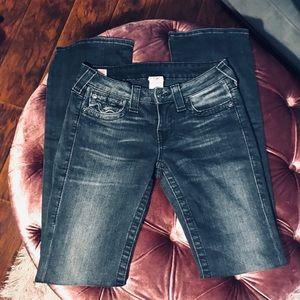 True Religion Jeans - True Religion | Becky | Faded Black | 27 EUC